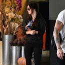 Megan Fox in Tights – Leaving Pilates in Los Angeles