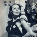 Loretta Young - Motion Picture Magazine Pictorial [United States] (April 1939) - 454 x 645