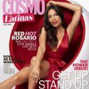 Rosario Dawson Cosmopolitan For Latinas October 2014
