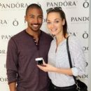Actor Charles Michael Davis attends the HBO Luxury Lounge featuring PANDORA at Four Seasons Hotel Los Angeles at Beverly Hills on August 23, 2014 in Beverly Hills, California - 396 x 594