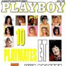 Sung Hi Lee, Angel Boris Reed, Yunia Soloman, Renée Marie, Deanna Brooks, Elizabeth Gracen, Shauna Sand, Stacy Sanches, Daphnee Duplaix, Tess Eggen, Arlette Laguiller - Playboy Magazine Cover [France] (June 1998)