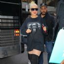 Christina Aguilera – Arrived at Radio City Music Hall in New York - 454 x 681