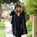 Suki Waterhouse out in Los Angeles February 7, 2017