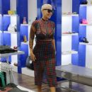 Amber Rose Shopping in Los Angeles, California - April 10, 2015