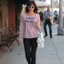 Camilla Belle shopping in Beverly Hills
