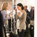 Olivia Munn - shopping at French Connection in SoHo - Jan 29 2011