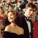 Jennifer Grey and William Baldwin At The 60th Annual Academy Awards - Arrivals (1988) - 454 x 492