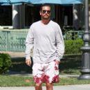 Scott Disick  out running errands in Calabasas, California on August 2, 2016 - 408 x 600