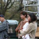 Selena Gomez On Set Of In Dubious Battle In Bostwick