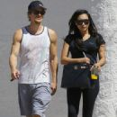 Naya Rivera: leave the gym in Los Angeles