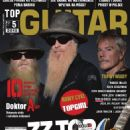 Billy Gibbons, Dusty Hill, Frank Beard - Top Guitar Magazine Cover [Poland] (May 2015)