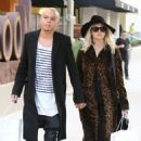 Ashlee Simpson and husband Evan Ross out shopping at OnePiece in West Hollywood, California on January 8, 2015 - 454 x 475
