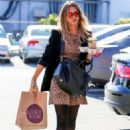 Jessica Alba Street Style Heads To The Office In Santa Monica