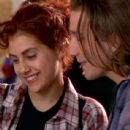 Brittany Murphy and Breckin Meyer