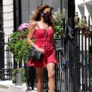 Lizzie Cundy in Mini Dress – Out in London - 454 x 591