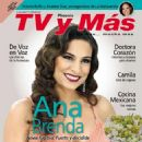 Ana Brenda Contreras - Tv Y Mas Magazine Cover [Mexico] (6 April 2014)