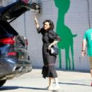 Rumer Willis at Healthy Spot pet supply in LA