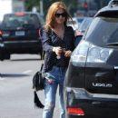 Isla Fisher – Running Errands in West Hollywood, CA 10/11/2016