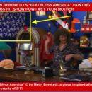 "HOLLYWOOD PAINTER METIN BEREKETLI'S ""GOD BLESS AMERICA"" PAINTING ON CBS HIT SHOW HOW I MET YOUR MOTHER! - 454 x 345"