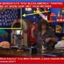 "HOLLYWOOD PAINTER METIN BEREKETLI'S ""GOD BLESS AMERICA"" PAINTING ON CBS HIT SHOW HOW I MET YOUR MOTHER!"