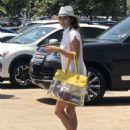 Brooke Burke in Mini Dress – Out in Malibu - 454 x 616