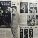 Gilbert Bécaud - Festival Magazine Pictorial [France] (20 December 1960) - 454 x 309