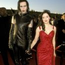 1999 MTV Movie Awards - Marilyn Manson and Rose McGowan - 454 x 629