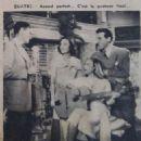 Luis Mariano - Cinemonde Magazine Pictorial [France] (22 August 1949) - 454 x 466