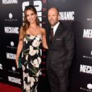 Jessica Alba & Jason Statham : Mechanic: Resurrection  Premiere (August 22, 2016) - 400 x 600