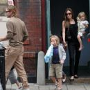 Angelina Jolie: Excursion in London