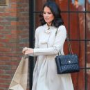 Olivia Munn: leaving The Bowery Hotel in New York City