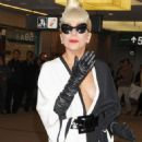 Lady GaGa Leaves Japan At Narita International Airport
