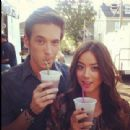 Sam Palladio and Chloe Bennet