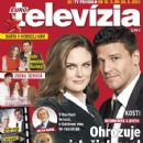 Emily Deschanel, David Boreanaz - Eurotelevízia Magazine Cover [Slovakia] (18 May 2013)