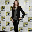 Danielle Panabaker The Flash Press Line At 2014 Comic Con