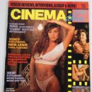Julia Parton - Cinema Blue Magazine Cover [United States] (March 1991)
