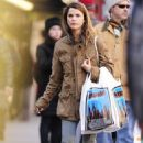 Keri Russell shopping in Brooklyn, New York, March 29, 2011