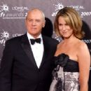 Alan Dale and Tracey Pearson