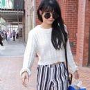 Vanessa Hudgens Shopping In Beverly Hills