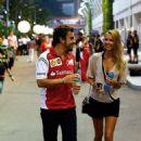 Kapustina @ Singapore Grand Prix 2014 - 454 x 663