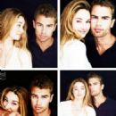 Shailene Woodley and Theo James - 454 x 556