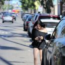 Ariel Winter – running errands in LA