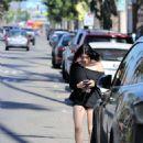 Ariel Winter – running errands in LA