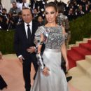 Thalia and Tommy Mottola- 'Manus x Machina: Fashion In An Age of Technology' Costume Institute Gala - Arrivals