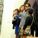 Beyoncé Knowles - Contemporary Art Fair In Miami - 04/12/08