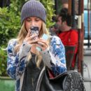 Ashley Tisdale: leaves Urth Cafe in West Hollywood