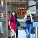 Kylie Jenner Leaving Sagebrush Cantina In Calabasas