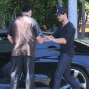 Leaving The  L'Ermitage Hotel in Beverly Hills 5.15