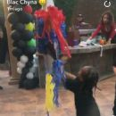 Blac Chyna Celebrates King Cairo's 4th Birthday at Her Home in Tarzana, California - October 15, 2016 - 454 x 652
