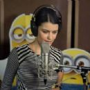 BerenSaat and Kenan Doğulu dubbing minions film